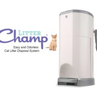 litter champ cat litter disposal